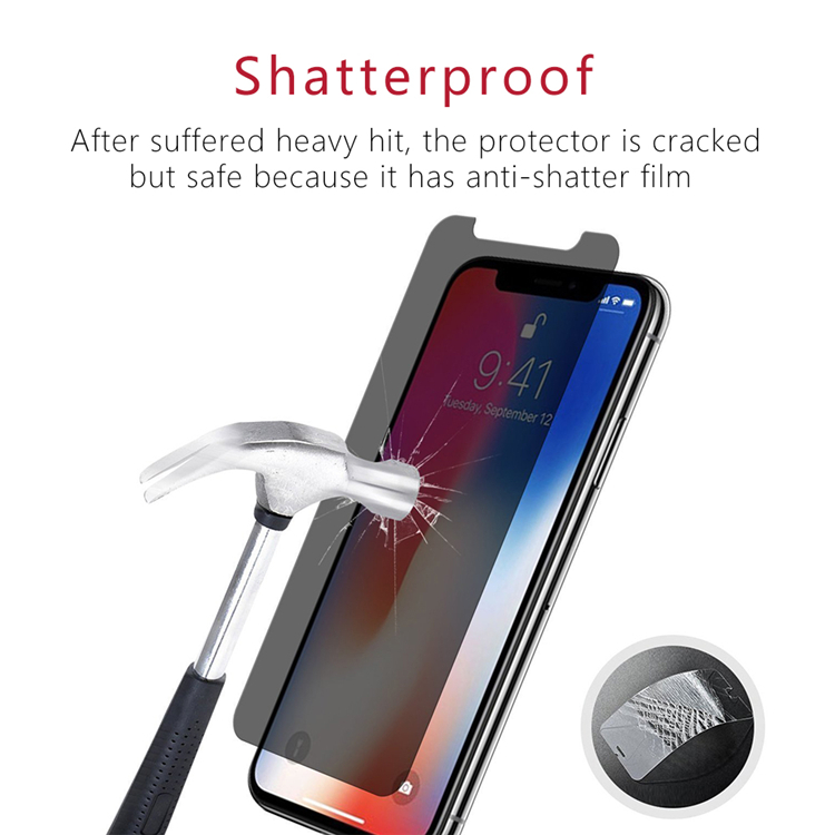 iPhone X Privacy Glass Screen Protector