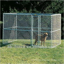 Hot dip galvanized dog kennels