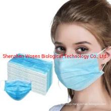 Nonwoven/SMS/PP/Es/Japan Disposable Black Face Mask