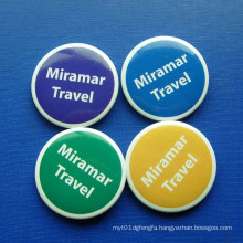 Round Tin Badge, Colorful Lapel Pin (GZHY-TB-012)