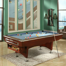 Роскошь фантазии игры стандартные Америки черный 8 бильярдные столы с автоматической мяч обратно системы