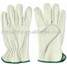 Cowgrain Leather Safety Driving Gloves