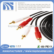 16FT 2RCA to 2RCA Cable 5m Audio Video Cable Cord