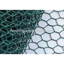 galvanized woven hexagonal wire mesh