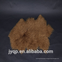2018 Chine Fournisseurs rembourrage tibétain mongol agneau fourrure mouton tapis