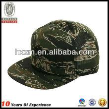 Bonés de camuflagem chapéu de snapback com tingido de tinta impresso