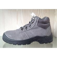 Cuir suédé & Oxford tissu chaussures de sécurité avec Mesh doublure (HQ05043)