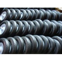 Solide PU-Schaum-Rad 350-8 für Schubkarre