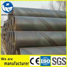 Tuyau d'acier SSAW Q235 soudé en spirale soudé en usine