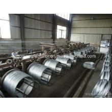 Fil de fer galvanisé à chaud / haute qualité DIP à haute qualité / fil d'acier galvanisé