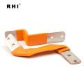 Connecteurs de barre omnibus de puissance électrique de RHI isolés barres flexibles de puissance de cuivre