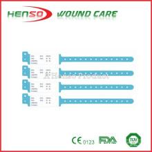 Faixa de identificação de PVC descartável HENSO