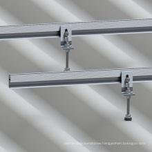 Eternit Concrete Roof Solar L-Feet Kit Aluminium Solar Mounting Structure