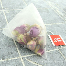 English Breakfast Rose Pyramid Tea Bags