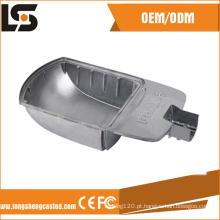 Os fabricantes de alumínio de alumínio da carcaça da máscara da lâmpada de rua do diodo emissor de luz de China