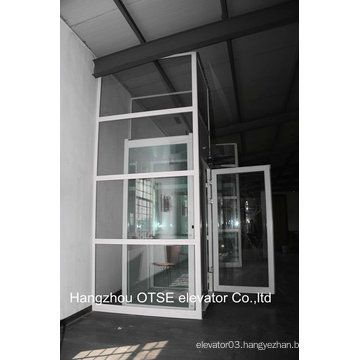 Space saving glass elevator outdoor elevator from China