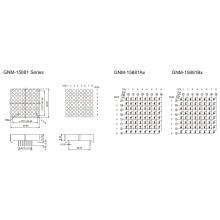 1,5 polegadas, 3,7 mm DOT (GNM-15881Ax-Bx)