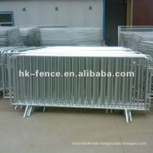 Hot dipped Galvanized temporary pedestrian barrier