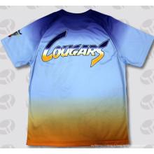 Небрендированный полиэстер Custom сублимации моды 3D T-Shirt