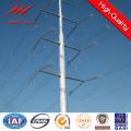 Línea de transmisión 10kv Steel Pole