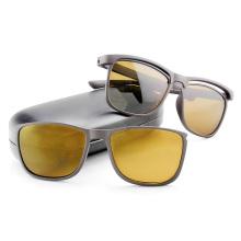 Модные солнцезащитные очки со съемными объективами и храмами