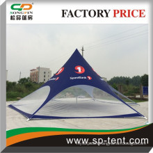 2015 Newly Blue Big Star shade canopy tents diameter 16m with clear sidewall for sport event