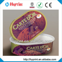 2015 high quality first class custom IML In Mold Label for chocolate packaging