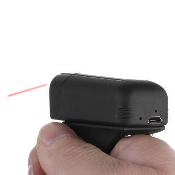 Bluetooth Wearable Barcode Reader Schnurloser Ringscanner