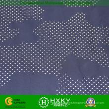 Tela de la memoria de poliéster tejida con tela de malla de camuflaje
