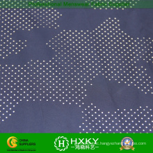 Woven Polyester Memory Fabric with Camouflage Mesh Fabric