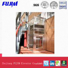 400kg Capacity 0.4m/S a Mulfunctional and Exquistie Home Ineal Elevator Villa Elevator
