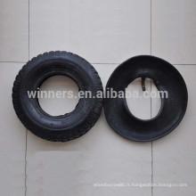 Pneu de brouette 250-4 de roue en caoutchouc / petites roues et pneus
