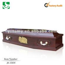 artisanat sculpture des cercueils en bois JS-E035