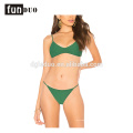 2018 mujeres sexy bikini verde traje de baño de moda bikini personalizada 2018 mujeres bikini sexy verde traje de baño de moda bikini personalizada