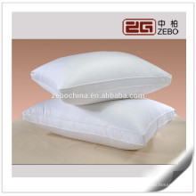 2015 New Design 100% Cotton Customized Size White Feather and Down Pillows on Sale
