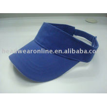 sun visor hat wiht 3D embroidery