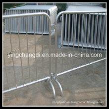 Barrera retractable del soporte de la cola del control de la muchedumbre del acero inoxidable o del plástico