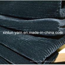 100% полиэстер с тиснением флокирующей трикотажной ткани для дивана