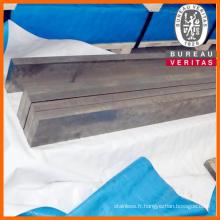 Acier inox brillant de 310 s barre plate distributeur