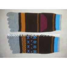 2015 High Quality Classic Cotton Five Toe Socks