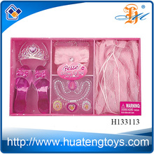 2014 Новый пункт Мода Красота наборы ювелирных изделий, пластиковые аксессуары девушка красоты набор игрушек