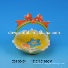 Пасхальные корзины с керамическими корзинами для яиц