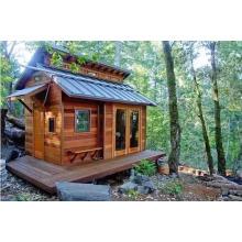 Hosue de madeira bonito, casa pré-fabricada