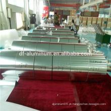 Fabricação na China de fita adesiva de alumínio, folha de fita adesiva de alumínio / rolo de folha de alumínio, embalagem de folha de alumínio