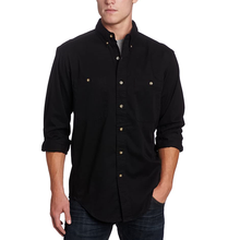 Men's Logger Twill Long Sleeve Work Shirt
