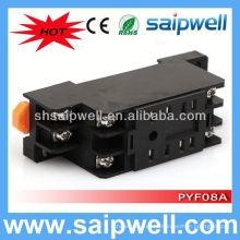 PYF08A / MY2 8-контактный релейный цоколь автомобильный релейный разъем