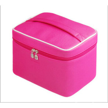 The Bright Pink Cosmetic Bag Handbag (hx-q081)