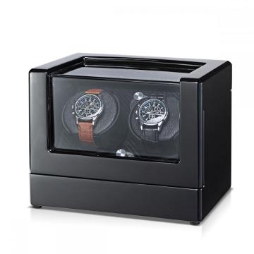 Silent Watch Winder Box Black