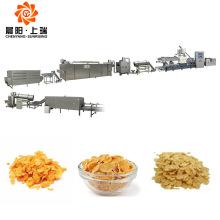 Breakfast cereal corn flakes extruder making machine