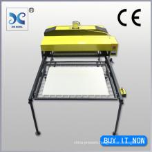 Big size hydraulic double sided textile heat press sublimation machine